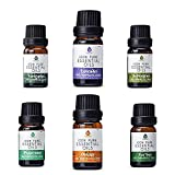 Pursonic 100% Pure Essential Aromatherapy Oils Gift Set-6 Pack ,...