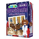 Professor Noggin's Presidents of the United States Trivia Card Game - An Educational Trivia Based Card Game For Kids - Trivia, True or False, and Multiple Choice - Ages 7+ - Contains 30 Trivia Cards