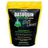 DASUQUIN MSM Soft Chews for Small to Medium Dogs, 1.1 lbs., Count of 84, 6.25 in