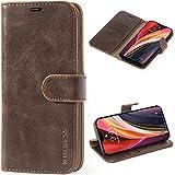 Mulbess Cover per iPhone 12 PRO Max, Custodia Pelle con Magnetica per iPhone 12 PRO Max (6.7) 5G [Vinatge Case], Vintage Marrone