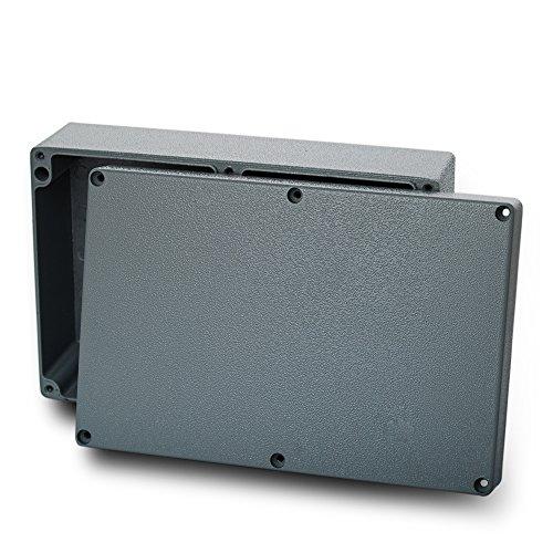 edi-tronic Aluminium Leergehäuse 222x145x75mm Industriegehäuse IP66 Gehäuse Box Kasten Dicht