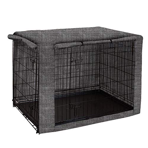 chengsan Funda para Jaula, Resistente al Viento, Cubierta para caseta de Mascotas, Proporciona protección Interior y Exterior para Caja de Alambre