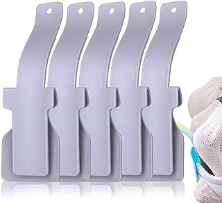 Shoe Helper for Elderly Easy to Wear Shoes Horn Shoe Lifting Helper for Men Women and Kids (5Pcs)