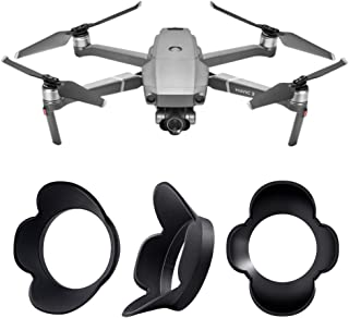 FEPITO Lens Hood Sun Shade Gimbal Cover DJI Mavic 2 Zoom, Camera Gimbal Protector Cover DJI Mavic 2 Zoom Accessories (Dron...