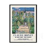 Monet Wandkunst Leinwanddruck Abstrakte Blumenmalerei
