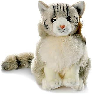 Ashymily Stuffed Tabby Maine Coon Cat Toy 9