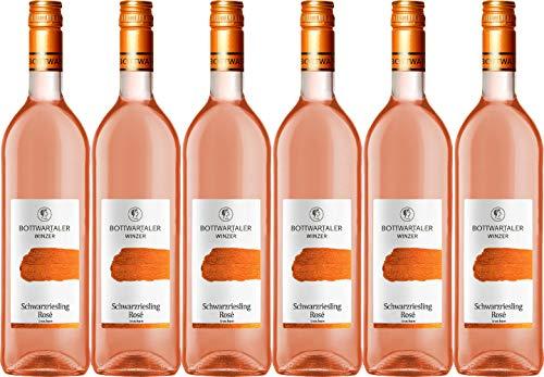 Bottwartaler Winzer Basic Schwarzriesling Rosé 2019 Trocken (6 x 0.75 l)