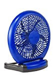 O2 Cool Fan 8 In. 2 Speed Assorted Colors, Blue, Green Ac Adapter