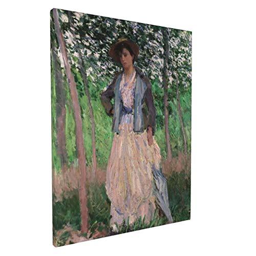 Claude Monet el cochecito suzanne hoschede 1887 30,5 x 40,6 cm impresionismo pintura arte hogar clásico decoración de pared