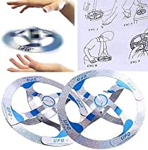 Kids Adult Creative Mystery UFO Floating Flying Disk Magic Cool Trick Saucer Toy