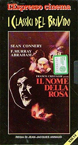 Il nome della rosa VHS Sean Connery