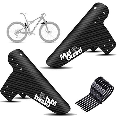 Mountainbike Kotflügel Set, Fahrrad Mud Guard,Downhill Schutzbleche,2PCS Fahrrad Mud Guard MTB Schutzblech für die meisten Fahrräder