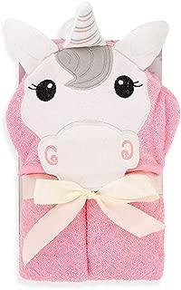 Pink Unicorn Hooded Baby Towel