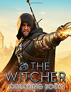 The Witcher Coloring Book: Wild hunt