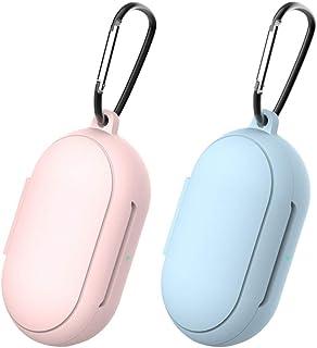 Scicalife 2 stks Siliconen Draadloze Oortelefoon Case Cover Draagbare Zachte Headset Case Protector Oortelefoon Protector ...