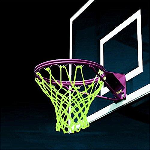 CAMTOA Portatile Outdoor Bagliore nel Buio Rete di Basket / Basketball Net Ricambio per Canestro da Basket Formazione