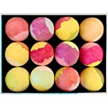 Attractive Package Design is Perfect for Gifts: Packaging beautifully designed and meticulously assembled; bathbombs individually wrapped in a plastic sleeve (easily removed with enclosed tool) and wrapped again with delicately designed white tissue;...