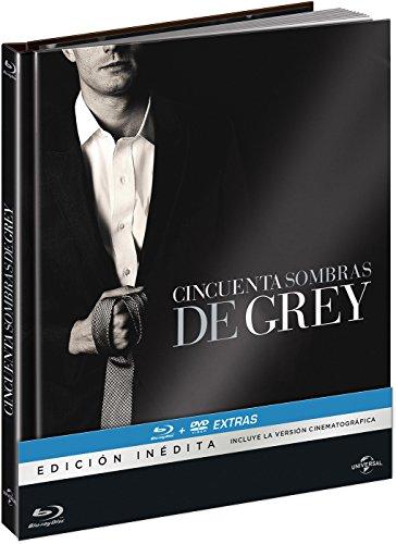 Cincuenta Sombras De Grey - Edición Especial Digibook (BD + DVD De Extras + Libro Con Imágenes) [Blu-ray]