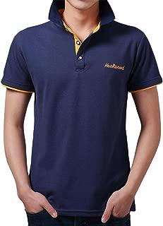 IHGTZS T-Shirts for Men, Fashion Mens Letter Printing Shirt Short Sleeve Casual T-Shirt Blouse Tops