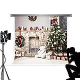 Kate 10 (L) * 6.5 (H) ft/3 m*2 m fondale albero di Natale Decorazioni puntelli Booth sfondo per studio fotografico x-mas party Fond Photocall