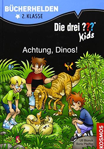 Die drei ??? Kids, Bücherhelden 2. Klasse, Achtung, Dinos!