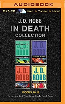 MP3 CD J. D. Robb in Death Collection Books 26-29: Strangers in Death, Salvation in Death, Promises in Death, Kindred in Death Book