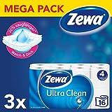 Zewa Toilettenpapier Trocken Ultra Clean 3 Packungen 4 Lagen