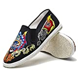 JINFAN Kung-Fu Martial Arts Tai-Chi Shoes with Soft Cushion Layers Sew by Hand,(275mm)=45EU