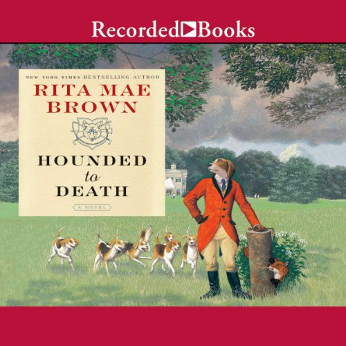Hounded to Death audiobook cover art