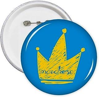 Doodle Scrawl Graffiti Marchese Headgear Pins Badge Badge Badge Emblème Accessoire Décoration 5 pcs