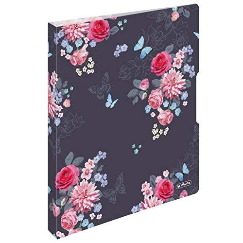 Ringbuch A4 Ladylike Flowers, 2-Ringe, 2, 7cm Rücken, 16mm Füllhöhe, 1 Stück
