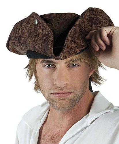 Boland 10102861 Chapeau pirate Neptune pour adulte Taille unique