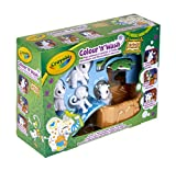 Crayola - Color'N'Wash - Mes Animaux à Colorier - Kit Safari - Dessiner - Laver - Recommencer - 256480.006