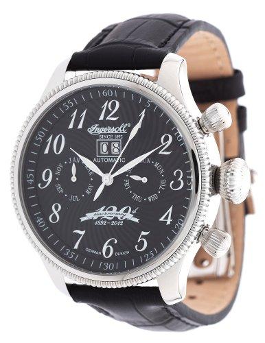Ingersoll - Reloj de pulsera hombre, color negro