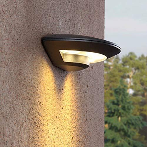 Led-outdoor waterdichte wandlampen, Ip54 4W, modern aluminium naar boven en onder lamp, wandlamp voor terras, dubbel licht