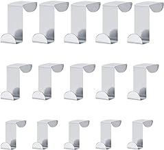 LINVINC Deurhaken - Z-vormige ophanghaken voor deur/kast/lade - Metalen keukengereedschap haken