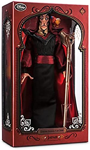 Disney - 2015 Limited Edition Jafar Doll - Aladdin - 17'' Limited Ed 2,500 - New in Box by Disney