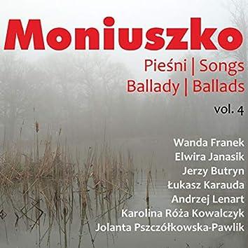 Moniuszko: Pieśni / Songs Vol. 4
