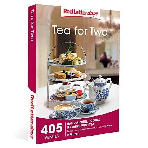 Red Letter Days Tea for Two Gift Voucher – 405 delightful afternoon tea experiences
