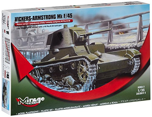 Mirage Hobby 355011 – Vickers de Armstrong MK F/45, Char