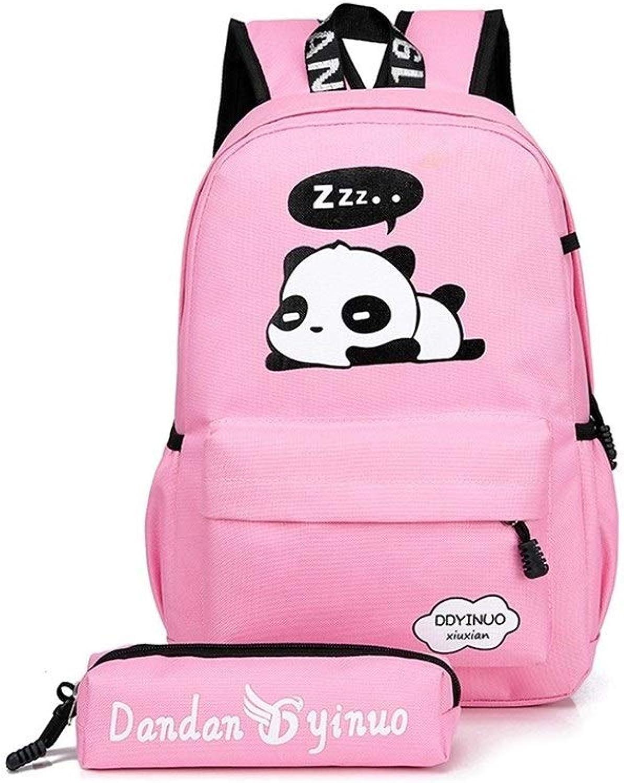 GUYUEXUAN Middle School Student Bag Zweiteiliger Rucksack für Schüler, Jungen und Mdchen Langlebig