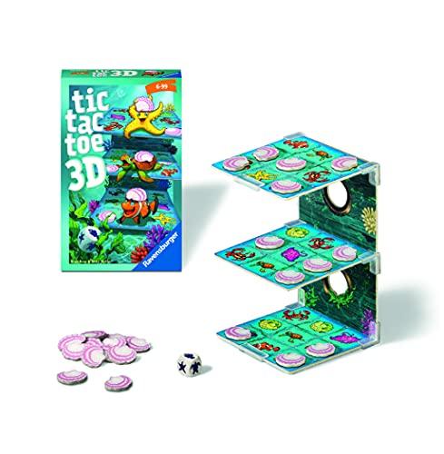 Preisvergleich Produktbild Ravensburger 20544 - Tic Tac Toe,  Mitbringspiel für 2-4 Spieler,  ab 6 Jahren,  kompaktes Format