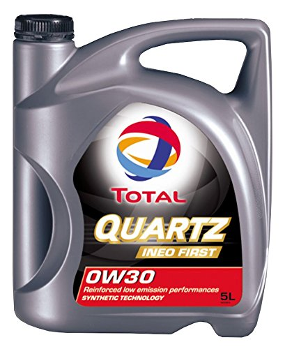 Total Quartz Ineo First 0W-30 synthetische Low SAPS motorolie in 5 liter Jerrycan.