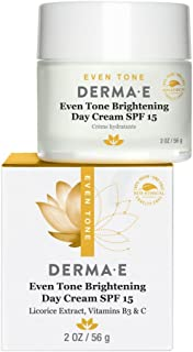 DERMA E Even Skin Tone Brightening Cream SPF15