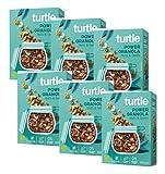Turtle Cereales Granola orgánica sin gluten con semillas de girasol, calabaza, lino y nueces - 6 x 350 gramos