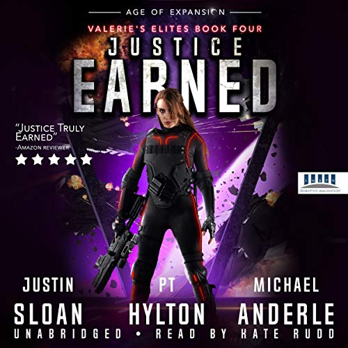 Justice Earned: Age of Expansion     A Kurtherian Gambit Series (Valerie's Elites, Book 4)              Autor:                                                                                                                                 Justin Sloan,                                                                                        P.T. Hylton,                                                                                        Michael Anderle                               Sprecher:                                                                                                                                 Kate Rudd                      Spieldauer: 4 Std. und 52 Min.     Noch nicht bewertet     Gesamt 0,0