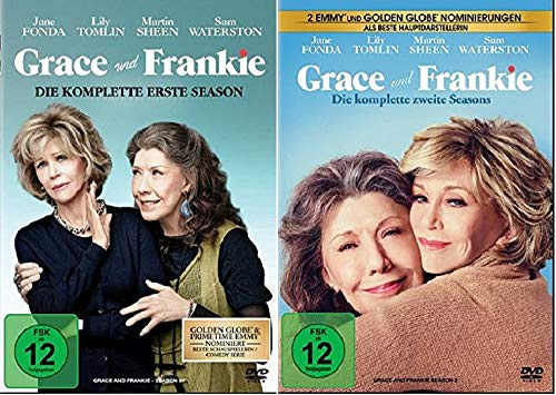 Grace und Frankie Staffel 1+2 [DVD Set]