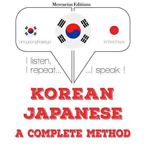 Korean – Japanese. A complete method cover art