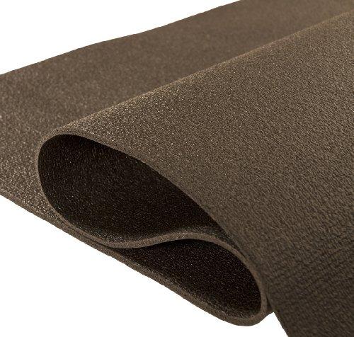 Yogabox Yogamatte Premium 183 x 60 x 0,3 cm - in Deutschland hergestellt, Black