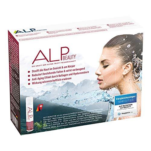 ALP BEAUTY Colágeno Hidrolizado Acido Hialurónico Vitamina C Zinc 14x25 ml Ampollas bebibles antiedad con peptidos de colageno verisol complejo vitaminico biotina glucosamina
